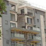 קריסת מרפסות בבניין מגורים